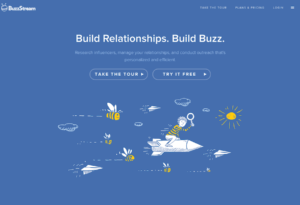 The key intent for BuzzStream is to help you find options based on the industry you want to connect to.