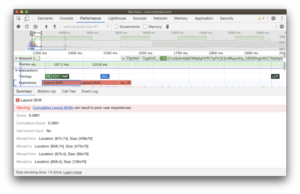 Chrome DevTools has been updated to help site owners find and fix visual instability issues on a page that can help change the cumulative layout (CLS).